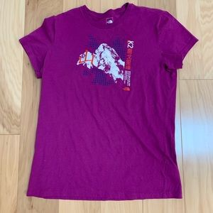 The North Face Pink K2 N Ridge Ascent SS Tee